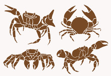 Graphical Collection Of Crabs ...