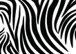 Abstract zebra skin in a modern style. For covers, business cards, banners, prints on clothes, wall decor, posters, canvases, sites. video clips. Vector illustration