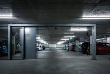 Gated Underground Parking. Car...