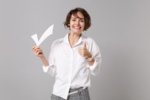 Smiling Young Business Woman I...