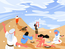 Bible Narratives About Manna. ...