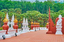 The Terrace Of Royal Pavilion, Rajapruek Park, Chiang Mai, Thailand