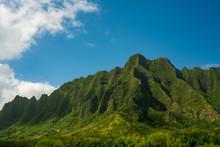 Kualoa Mountains Oahu Hawaii