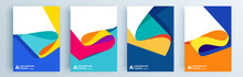 Modern Abstract Covers Set, Mi...