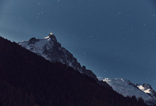 The Aiguille Du Midi Is A Moun...