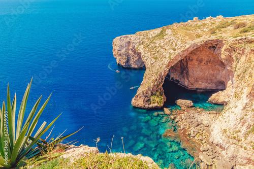 Fotografia Blue Grotto in Malta