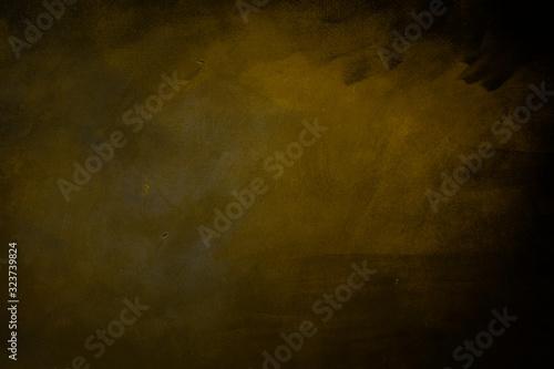 Fototapeta abstract dark yellowish background obraz na płótnie