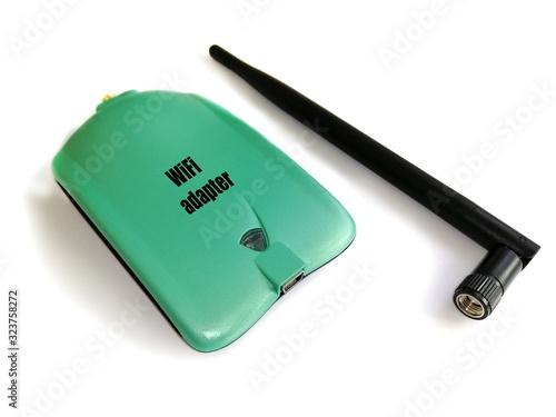 USB Wi-Fi adapter Canvas Print