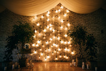 Wedding Arch Decoration With L...