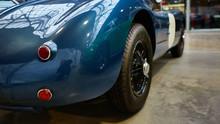 Detail Of Classic Car. Close-u...