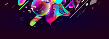 Multicolored Space Bubbles Clu...
