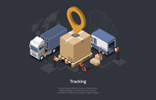 Isometric Warehouse Concept, G...