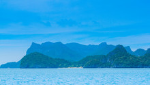 Fresh Blue Sea At Koh Samui In...