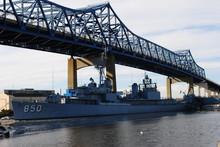 Battleship Cove Maritime Museum, Fall River Massachusetts January 2020.