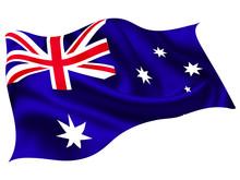 オーストラリア   国旗 世界 アイコン