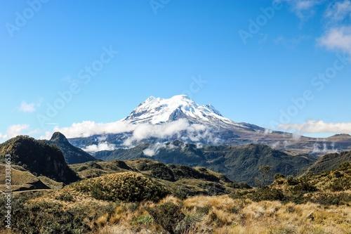 Mountain in Ecuador