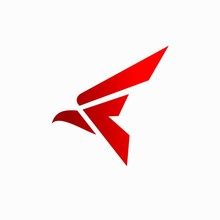 Falcon Logo That Formed Letter F