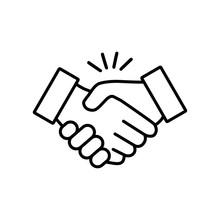 Handshake Icon Vector Design I...