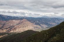 View Of Santa Ynez Mountains