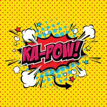 Ka-Pow! Comic Speech Bubble, C...