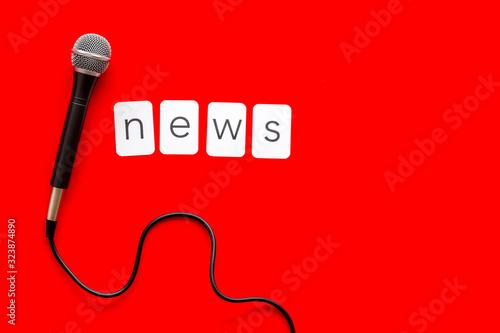 Breaking news concept Slika na platnu