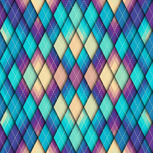 Argyle Seamless Vector Pattern...