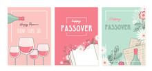 Passover Greeting Car Set. Sed...