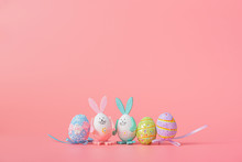 Cute And Cute Easter Backgroun...