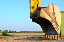 Large Metal Iron Ladle. Excava...