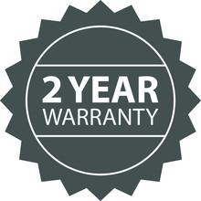 Warranty Label ,icon