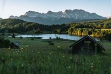 Serene Sunrise Over Lake Gerol...
