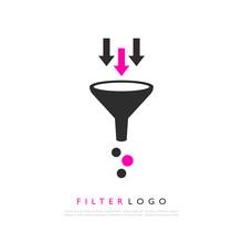 Filter Logo Vector Illustration