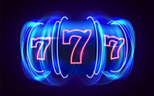 Neon Slot Machine Wins The Jac...