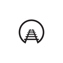 Train Icon Logo Design Vector Template