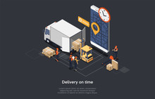 Isometric Concept Of On Time D...