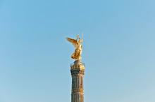 The Siegessäule At Berlin, Ge...