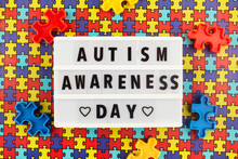 Light Box With World Autism Aw...