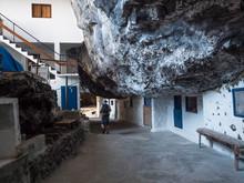 Tourist Man At Cueva De Candel...