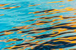 reflection in water ripples