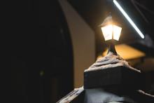 The Street Light Lamp On The B...