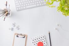 Flat Lay Blogger Or Freelancer...