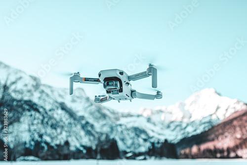 Photo Mavic Mini Drone in the Mountains - Almsee