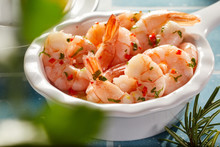 Fresh Grilled Scampi Or Lobster Tails