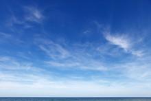 Beautiful Blue Sky With Cirrus...