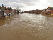 River Levels In Post Storm Dennis Flooding York 2020