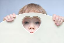 Baby Boy Toddler Face, Eyes An...