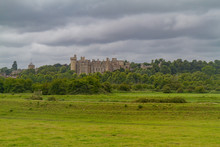 Exterior View Of The Arundel Castle