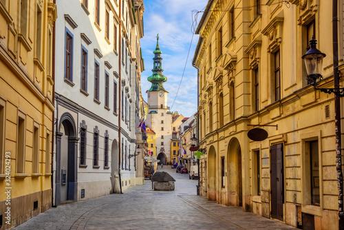 Old town of Bratislava, Slovakia Canvas Print