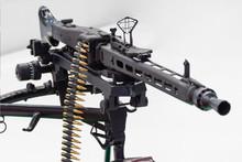 Black Assault Rifle Weapon Loa...