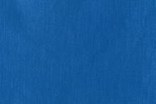 Flat Lay A Classic Blue Fabric...
